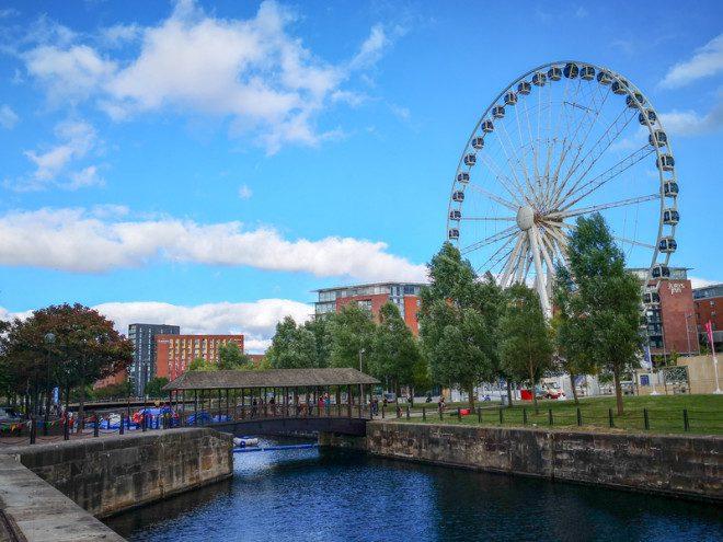 Albert Dock um must see em Liverpool. © Seemice | Dreamstime.com