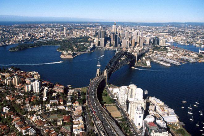 Sydney é a cidade mais populosa de toda a Austrália e Oceania.© Explorer Media Pty Ltd Sport The Library | Dreamstime.com