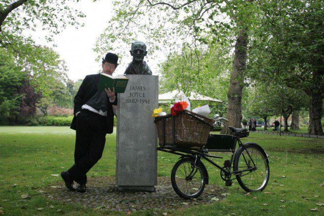 O trabalho de James Joyce caiu em domínio público. Reprodução: jamesjoyce.ie