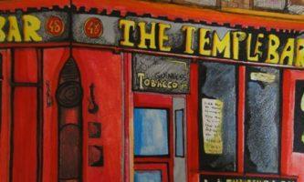 Dublin pelas mãos do artista brasileiro Arthur Seabra
