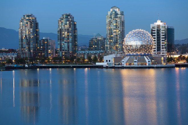 Vancouver é o destino mais procurando no Canadá para aprender um segundo idioma.© Crackerclips   Dreamstime.com
