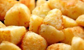 Batatas, berinjelas e um sopão especial