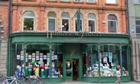 Explorando as livrarias de Dublin