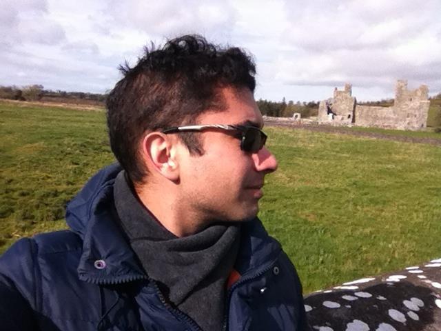 João trabalhou como voluntário no festival em 2012 Foto: Acervo pessoal