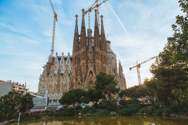A Sagrada Família - Barcelona, Espanha. Foto: Shutterstock