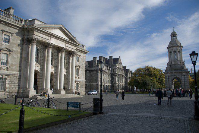 Trinity College é a universidade mais antiga da Irlanda Reprodução: Wikipedia
