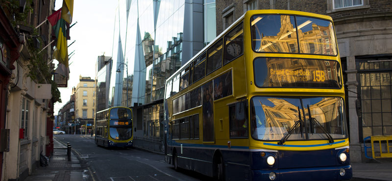 Como funciona o transporte público Irlanda x Europa