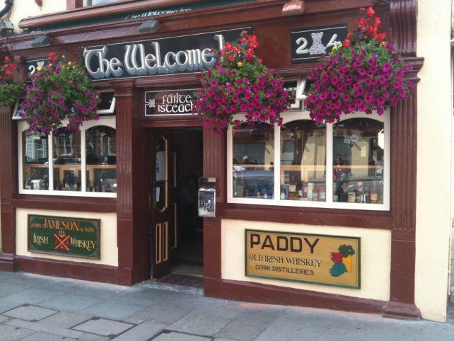 O Pab éfamoso por suarecepção calorosa no estilo irish. Créditos: Welcome Inn.