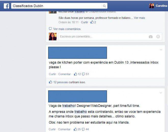 Classificados Dublin.