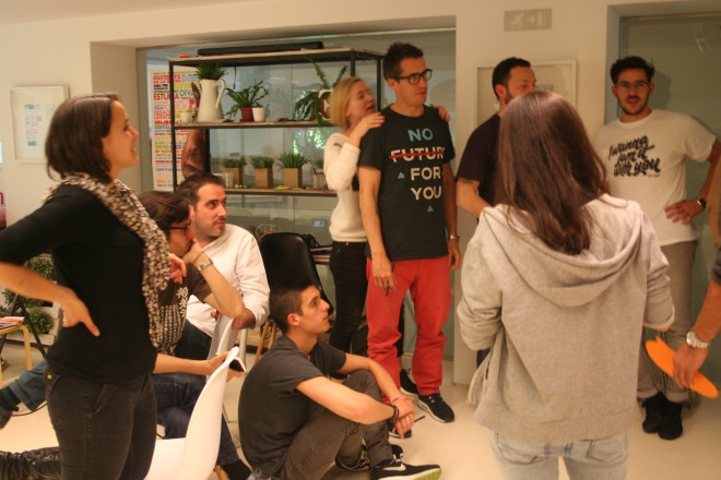Workshop em Madrid
