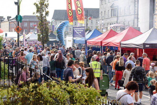Para quem curte experimentar comidas de vários países do mundo. Reprodução: Waterford Harvest Festival