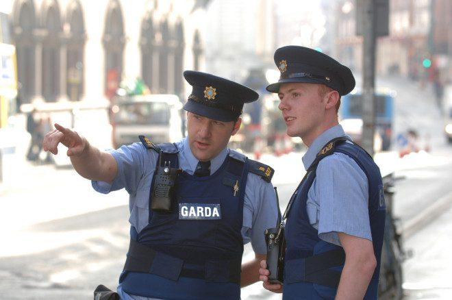 A Garda é a polícia irlandesa
