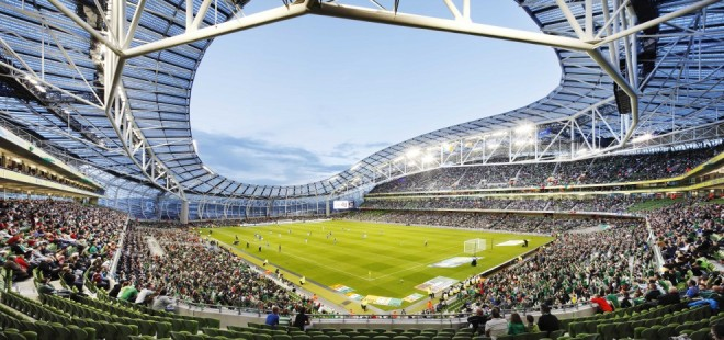 Aviva Stadium. Foto: Populous