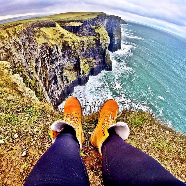 Cliffs of Moher. Créditos: Acervo pessoal.