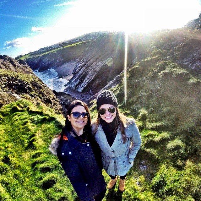 Camila, Grazi e a Ilha Esmeralda...#voltagrazi. Créditos: Acervo pessoal.