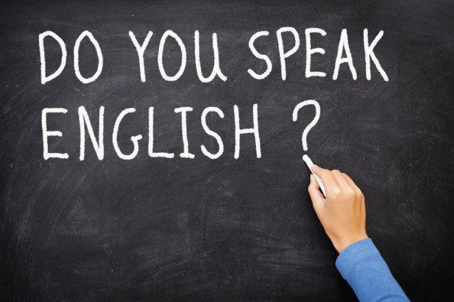 Tá na hora de criar coragem e falar inglês! Crédito: Martinmark | Dreamstime.com