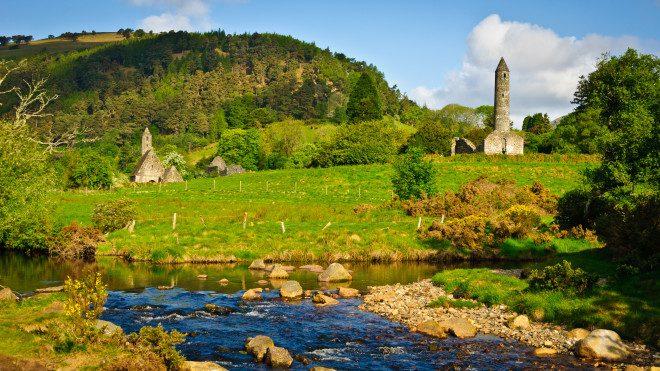 Condado de Wicklow oferece boas opções perto de Dublin. Reprodução: Wikipedia