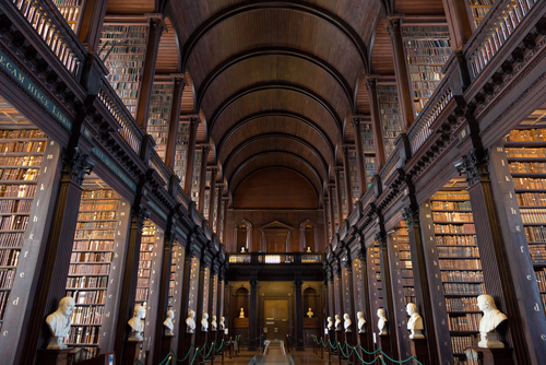 Trinity College Library. Foto: Shutterstock