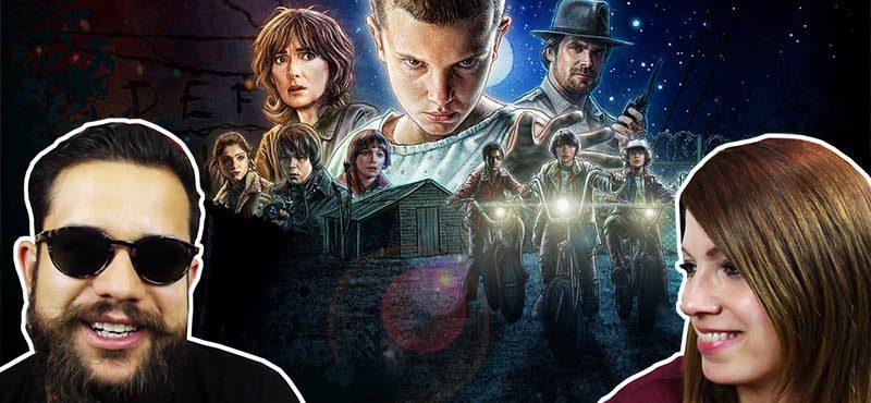 Assistimos Stranger Things, a nova série da Netflix!