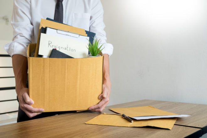 Se pretende pedir demissão avisa a empresa o quanto antes.© Snowingg Dreamstime.com