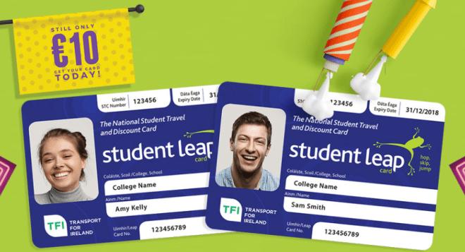 Leap Card Student. Corra para fazer o seu e garantir descontos. Divulgação