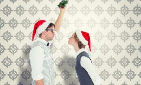O Beijo sob o Visco – Kissing Under the Mistletoe