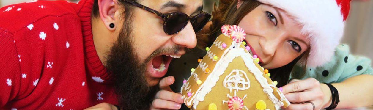 Montando casinha de biscoito (Gingerbread House) – PCVV de Natal