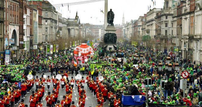 St. Patrick's Day Parade. Foto: FSD