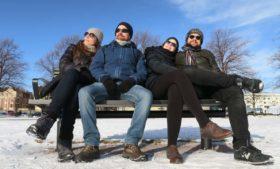 Neve na Finlândia, navio pra Estônia e Dream Theater – PCVV na Estrada