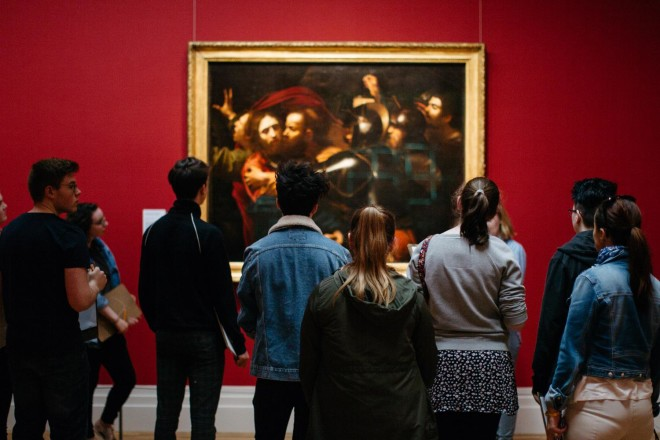 National Gallery tem workshops e bate-papo voltados para o público geral. Foto: National Gallery