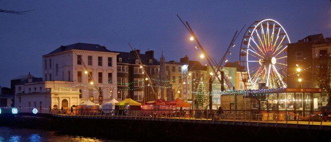 Cork conta com uma série de eventos para o Natal. Foto: Christmas in Cork