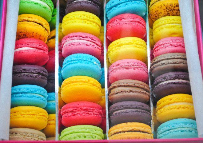 Os macarons de fama francesa foram criados pelos italianos. Crédito: Tonfon   Dreamstime