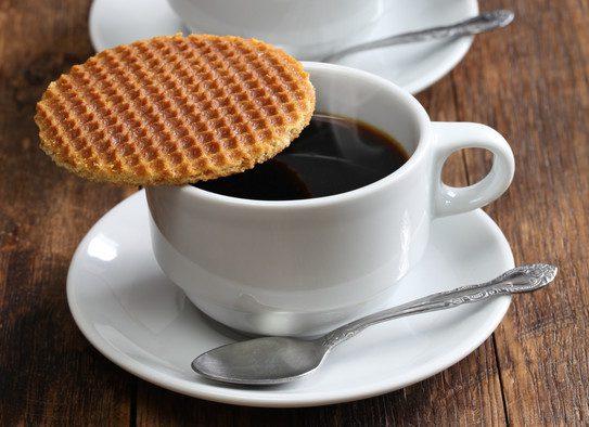 Stroopwafle: o biscoito é a sobremesa dos holandeses. Crédito: Ppy2010ha   Dreamstime