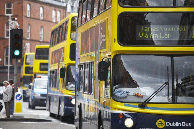 Dublin Bus encerra atividades mais cedo na véspera de Natal. Foto: Drx   Dreamstime