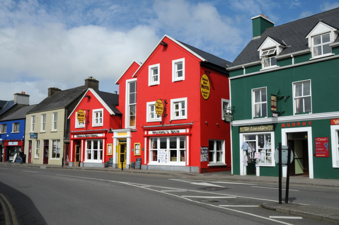 Dingle, em Kerry, ao sul da Irlanda, é indicada para aposentados. Crédito: Gunold   Dreamstime