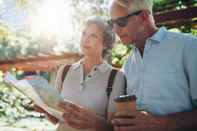Viver no exterior é uma nova oportunidade para os aposentados, segundo ranking. Crédito: Ammentorp   Dreamstime