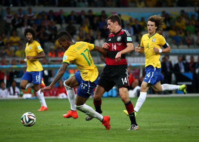 Seleção Brasileira começa a jogar no dia. Foto: André Durão/Dreamstime