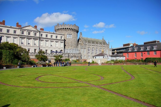 Dublin Castle vai seriar o evento. Foto: Wikipedia