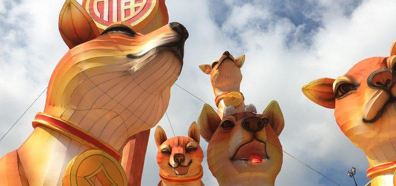 Festival celebra o Ano Novo Chinês em Dublin