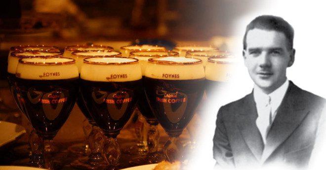 O irlandês Joe Sheridan inventou a bebida em 1943. Foto: Foynes Museum