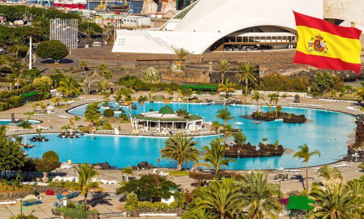 Sol, calor e parque aquático em Tenerife