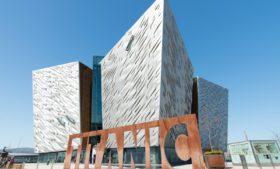 Museu do Titanic é atração histórica na Irlanda do Norte