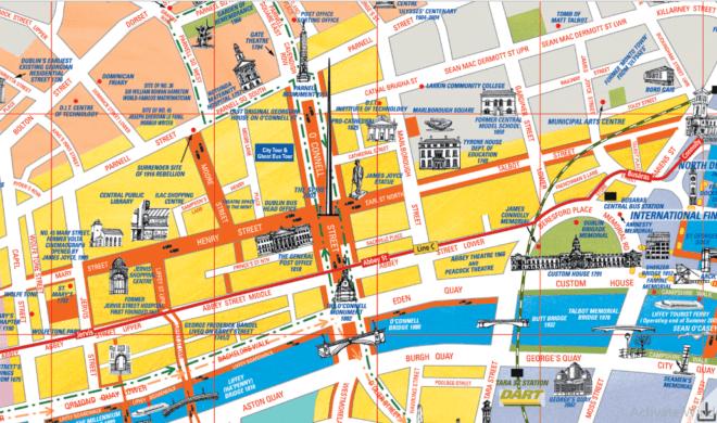 Os bairros centrais, D1 e D2 são populares entre estudantes estrangeiros.