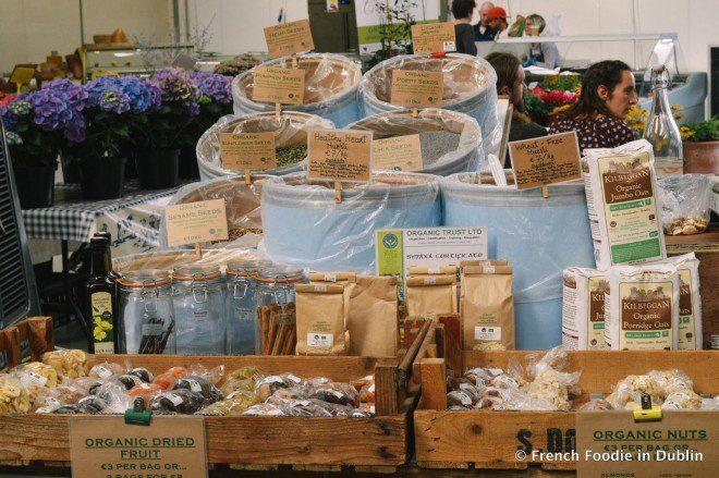 Mercado traz ao público opções diretamente das fazendas irlandesas .Foto: French Foodie in Dublin