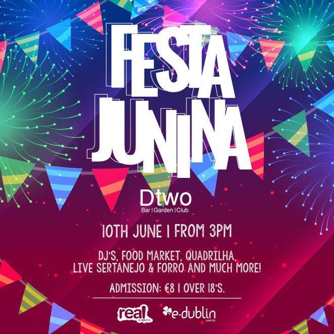 Festa junina no Dtwo traz gostinho do Brasil para Dublin