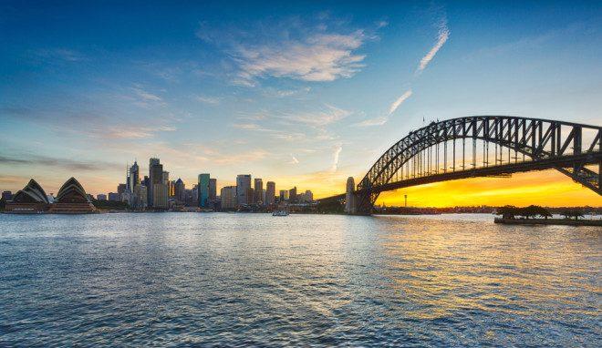 Sydney, capital da Austrália, é a segunda cidade mais cara de se viver no mundo, atrás apenas de Hong Kong. Foto: Depositphotos
