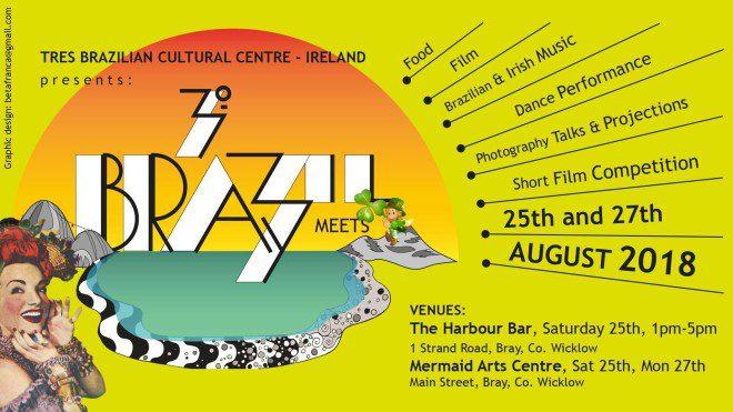 Brasileiros nos eventos na Irlanda em agosto. Imagem Tres Cultural Centre