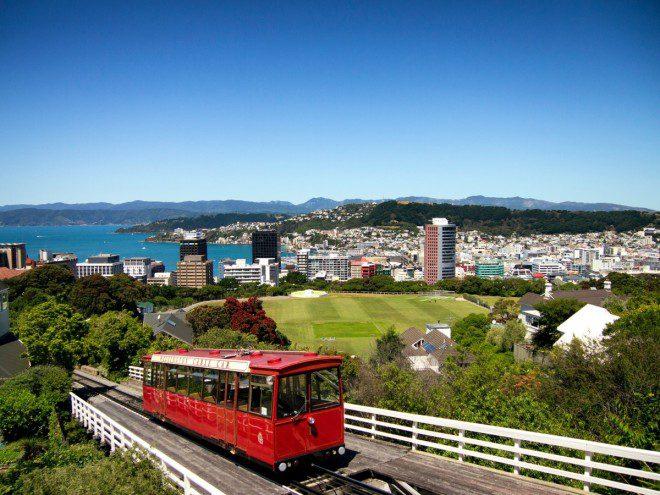 Capital Wellington, na Nova Zelândia, uma das mais procuradas pelos brasileiros. Foto: PxHere