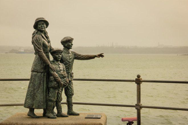 Cobh em Cork, apresenta muito da história naval e irlandesa. © Daniel M. Cisilino | Dreamstime.com