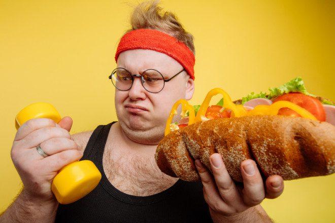 Dizem que os homens emagrecem, já as mulheres podem engordar. Sertá? © Albertshakirov | Dreamstime.com